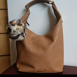 GUCCI AUTHENTIC TAN CALFSKIN BAG